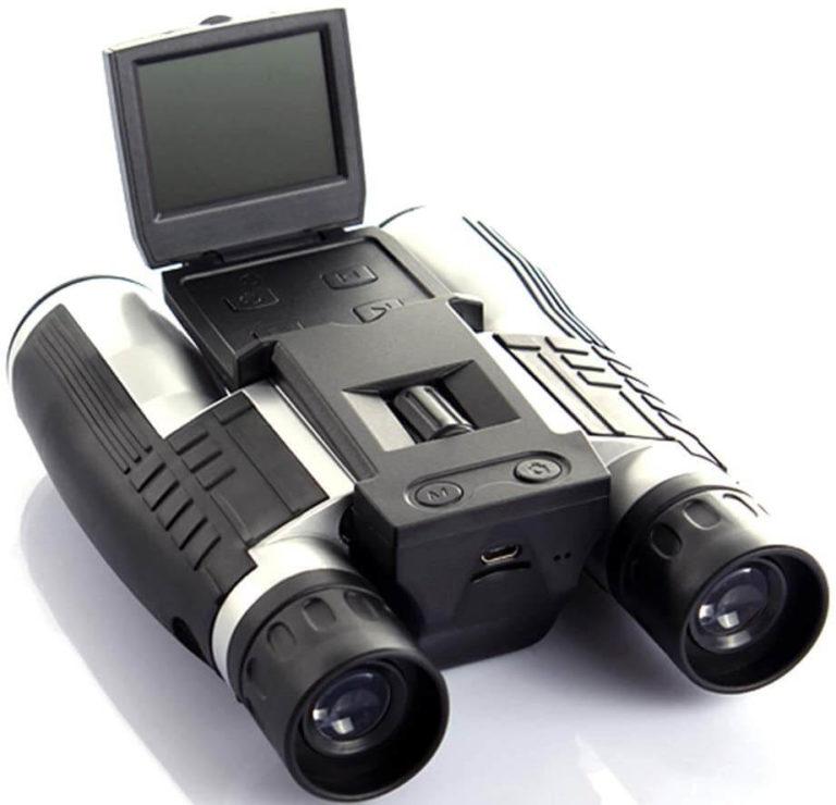 Binoculars with digital camera